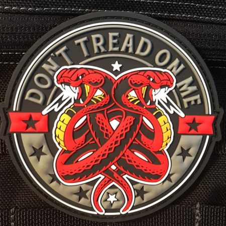 Don't Tread On Me 3D Patch