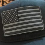 USA Flag PVC Patch – 3 Color Options
