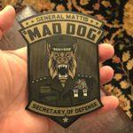USA Mad Dog Mattis STICKER