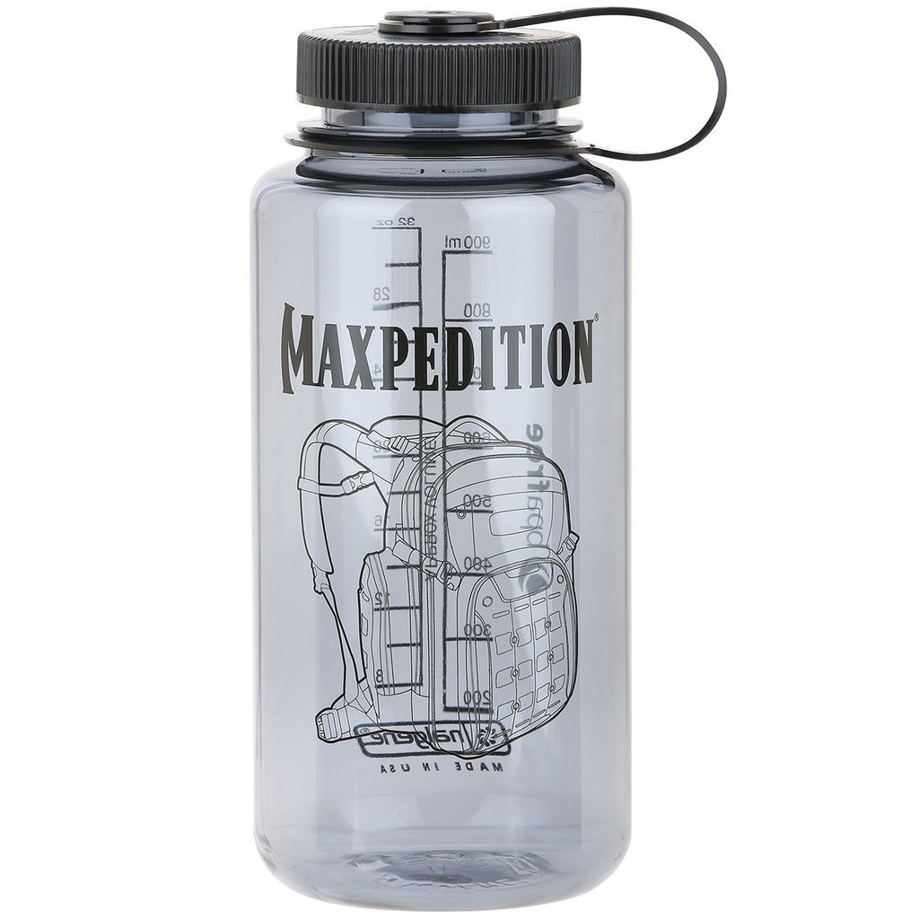 Maxpedition 32 oz. Wide-Mouth Nalgene Bottle (Dark Gray)