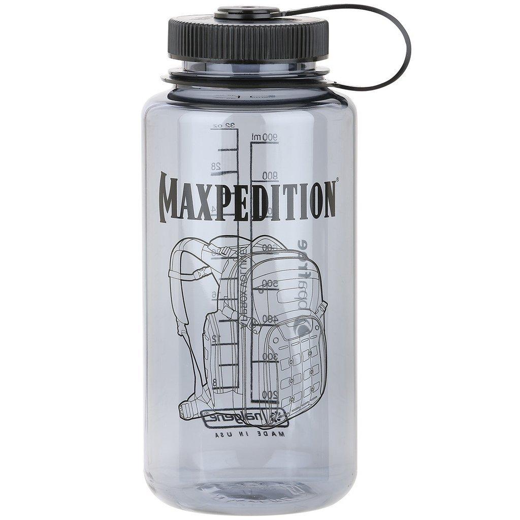 Maxpedition 32 oz. Wide-Mouth Nalgene Bottle (Dark Gray)