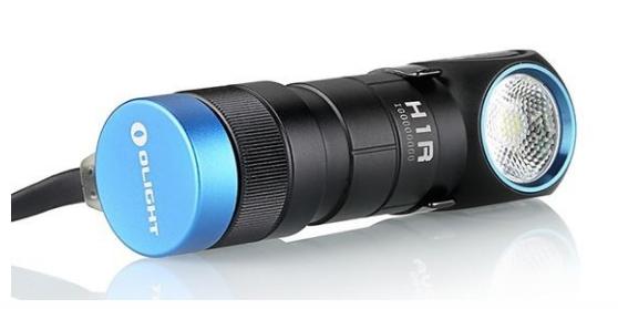 Olight H1R 600 Lumen 1 x CR123 CREE XM-L2 LED Rechargeable Flashlight