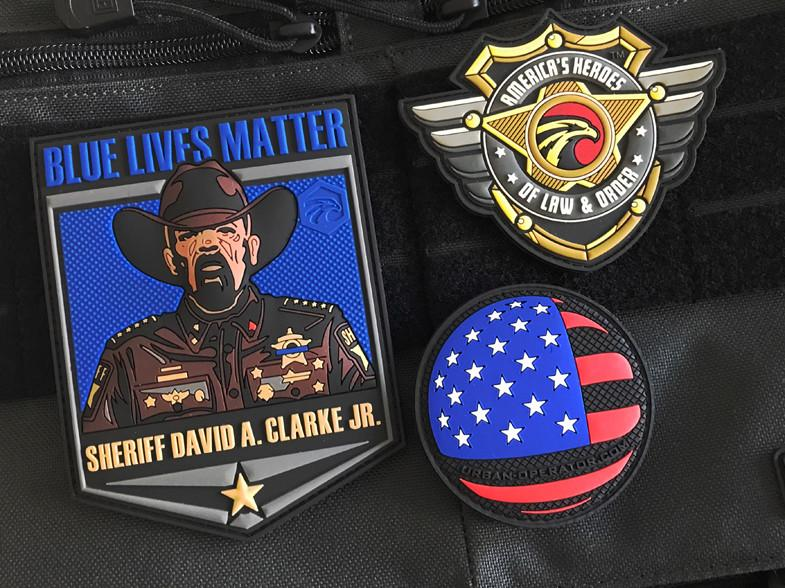 America's Heroes of Law and Order 3-Patch Bundle