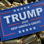 TRUMP 2020 PATCH – ORIGINAL RED/WHITE/BLUE