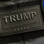 Trump MAGA Patch – Blackout
