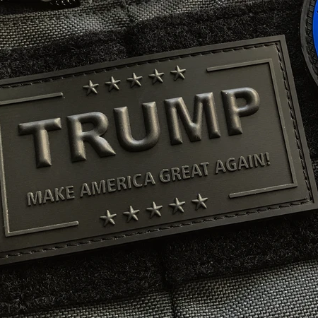 Trump MAGA Patch – Blackout