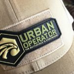 Urban Operator 3D Logo Patch