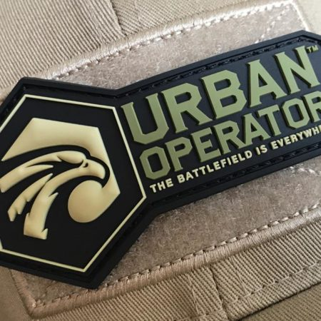 Urban Operator 3D Logo Patch