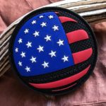 Urban Operator U.S. Flag Patch – Round, 3D
