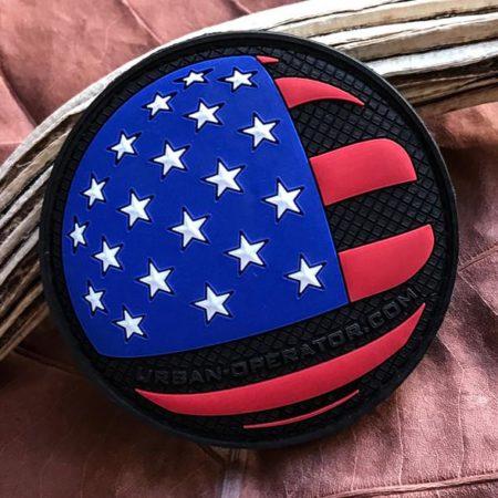 Urban Operator U.S. Flag Patch – Round, 3D