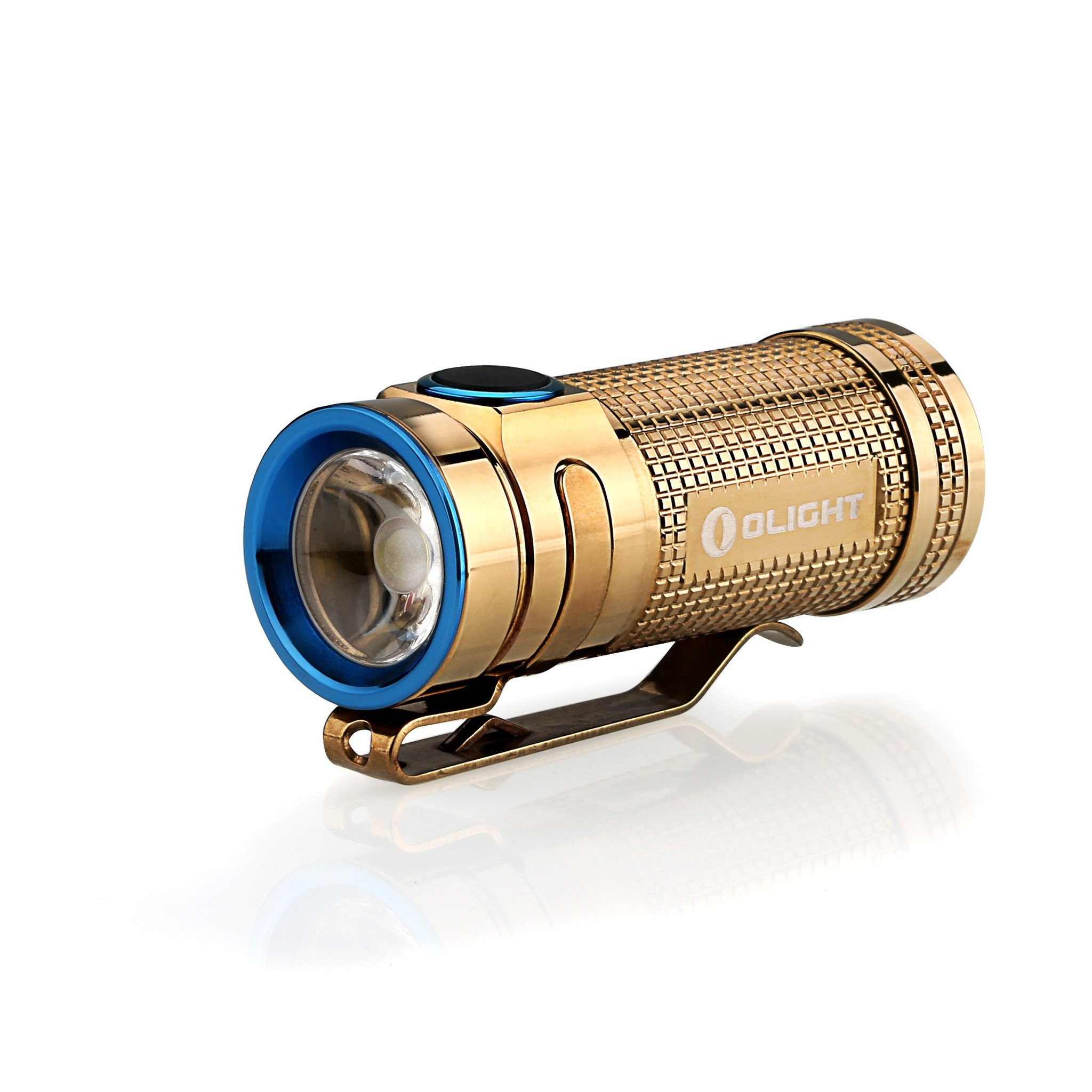 Olight S Mini Baton CU (Rose Gold) 1 x (R)CR123 550 Lumen CREE XM-L2 LED Flashlight